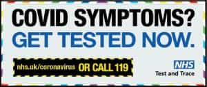 Covid--get tested